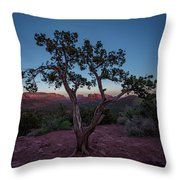 Cathedral Rock Throw Pillow by Gary Lengyel