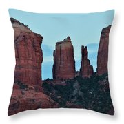 Cathedral Rock Moon 081913 H Throw Pillow