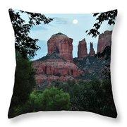 Cathedral Rock Rrc 081913 Aa Throw Pillow