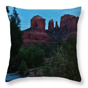 Cathedral Rock Rrc 081913 Ae Throw Pillow