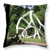 Cathedral Root Throw Pillow