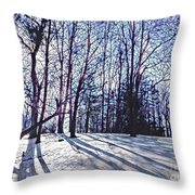 Cathedral Skies Throw Pillow