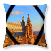 Cathedral Sky Throw Pillow