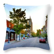 Cathedral Square Gallery On Dauphin Street Mobile Throw Pillow