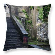 Cathedral Stairs Throw Pillow