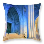 Cathedral Steps Throw Pillow