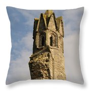 Cathedral Tower Throw Pillow