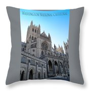 Cathedral Travel Throw Pillow