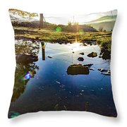 Catherine Creek Pond Throw Pillow