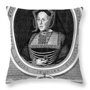 Catherine Of Aragon, First Wife Throw Pillow