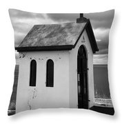 Catholic Chapel Throw Pillow