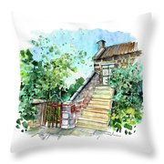 Catholic Church In Osmotherley 01 Throw Pillow