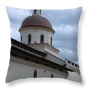 Catholic Church Throw Pillow