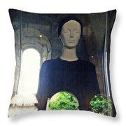 Catholic Imagination Fashion Show 1  Throw Pillow