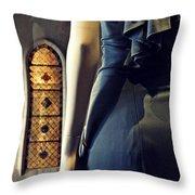 Catholic Imagination Fashion Show 5    Throw Pillow