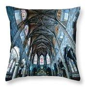 Catolic Church Throw Pillow