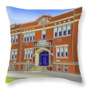 Catonsville Elementary School Throw Pillow