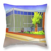 Catonsville Middle School Throw Pillow