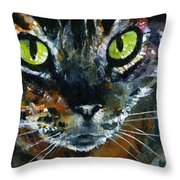Cats Eyes 16 Throw Pillow