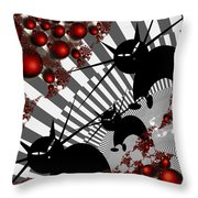 Cats On The Quiet Throw Pillow