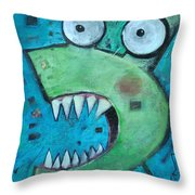 Catsastrophe Throw Pillow