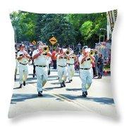 Catskill Fire Co.,inc 3 Throw Pillow