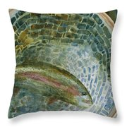 Caught For A Moment Throw Pillow