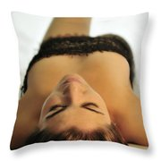 Caught Up In Net Throw Pillow