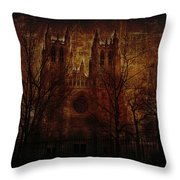 Caught Up In The Rapture Throw Pillow