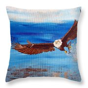 Caught You Throw Pillow