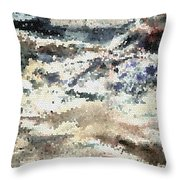 Cauldron Run #2 Throw Pillow