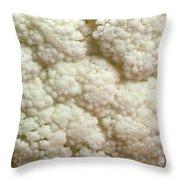 Cauliflower Head Throw Pillow