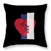 Cause Art Not War Transparent Throw Pillow