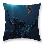 Cavallo Morente 1 Throw Pillow