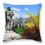 Cavalry Afternoon Throw Pillow