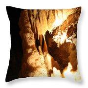 Cave 10 Throw Pillow
