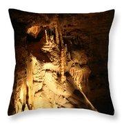 Cave 11 Throw Pillow