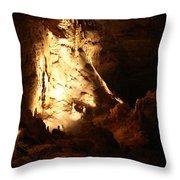 Cave 12 Throw Pillow
