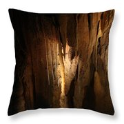 Cave 14 Throw Pillow