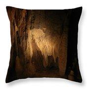 Cave 15 Throw Pillow