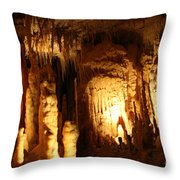 Cave 8 Throw Pillow