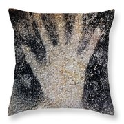 Cave Art: Pech Merle Throw Pillow