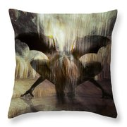 Cave Dweller Throw Pillow