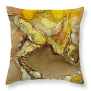 Cave Jewels Throw Pillow