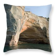 Cave On The Water Throw Pillow