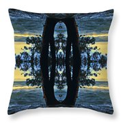 Cave Point Throw Pillow