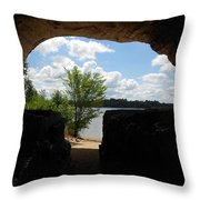 Cave With A View. Throw Pillow