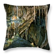 Cave03 Throw Pillow by Svetlana Sewell