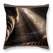 Cavern Of The Djinn Throw Pillow