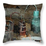 Caverness Moonshining Throw Pillow